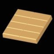 2-lb. Rect. Slab Mould- 8 bars