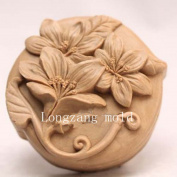 Flowers 50002 Craft Art Silicone Soap mould Craft Moulds DIY Handmade soap moulds