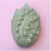 lily of the valley 50319 Craft Art Silicone Soap mould Craft Moulds DIY Handmade soap moulds
