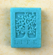 Longzang LIFE tree S0216 Craft Art Silicone Soap mould Craft Moulds DIY Handmade soap moulds