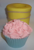 Frilly Cupcake Soap and Candle Mould
