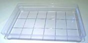 18-Bar Rect Grid Slab Tray