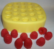 Raspberries Soap & Candle Mould - 23 Cavities