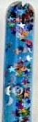 Blue Stars & Moon Glitter Wand for Kaleidoscopes or Party Favour 28cm