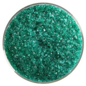 150ml Emerald Green Transparent Medium Frit - 90 Coe