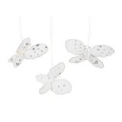 6 Nylon Butterfly Ornaments
