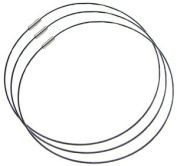 38cm Black Magnetic Necklace - 3 Pack