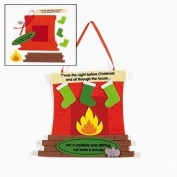 "30cm T'was The Night Before Christmas"" Sign Craft Kits"