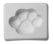 Paw Print Casting Mould