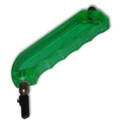 Pistol Grip Glass Cutter, Oil Fed, Green Plastic Handle