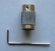 1.9cm Diamond Stained Glass Grinder Head Bit Quality Brass Core