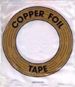 Edco 1cm Black Back Copper Foil