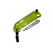 Quality Pistol Grip Glass Cutter, Oil Fed and Yellow Plastic Handle