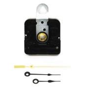 Spade Black Clock Movement Kit