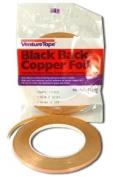 0.8cm Black Back Foil - 1.25 Mil