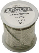 14 Ga Pre-Tinned Wire - 1 Lb