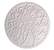 Peacock Round Texture Mould