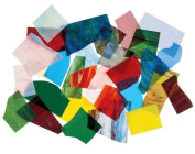 Opalescent & Cathedral Glass Assortment - 30-Lbs.