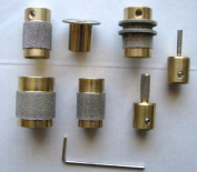 Stained Glass Grinder Head Bit 7 Sizes Quality Brass Core