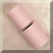 30cm Nylon Tulle Fabric Light Pink 25 Yards