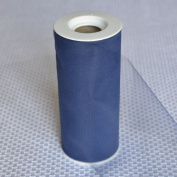 Premium Tulle on Spool (15cm Wide x 25 Yards Long) - Navy Blue