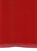 Red Velvet Royal Triple Velvet 57% Acetate 43% Nylon 110cm Wide - ONE YARD