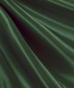 Hunter Green Satin Fabric - by the Yard