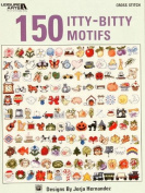 "Leisure Arts ""150 Itty-Bitty Motifs"" Cross Stitch Booklet By The Each"