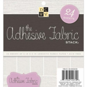 Die Cuts With A View Adhesive Fabric Stack, 15cm by 15cm