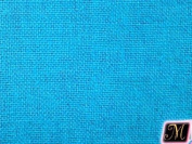 150cm Wide Burlap Turquoise Fabric By the Yard