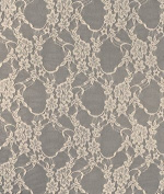 Champagne Stretch Lace Fabric - by the Yard