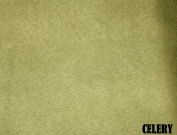 "150cm MICRO SUEDE FABRIC ""CELERY"" FOR UPHOLSTERY (PASSION SUEDE) BTY"