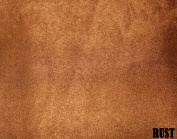 "150cm MICRO SUEDE FABRIC ""RUST"" FOR UPHOLSTERY (PASSION SUEDE) BTY"