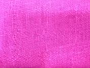 120cm Wide Hot Pink Colour Jute Burlap Fabric By The Yard