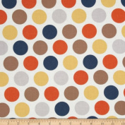 Riley Blake Super Star Large Dot Multi Fabric By The YD