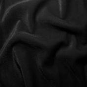 Polyester Stretch Velvet Black