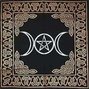 Ritual Tools - Altar Cloth Triple Goddess