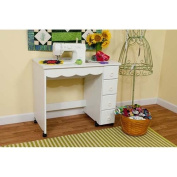 Arrow 6001 Shirley Sewing Cabinet in White