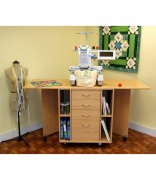 Kangaroo Wombat Embroidery Cabinet with Free Chair