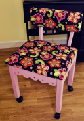 Arrow 5005 Sewing Chair - Pink