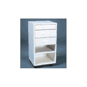 Modular Cabinet in White Drawers