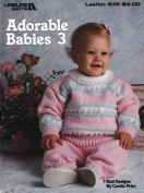Leisure Arts Adorable Babies 3 Book # 935