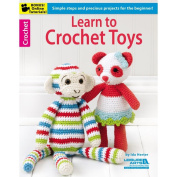 Leisure Arts NOM162364 Learn To Crochet Toys