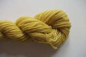 Lemon Yellow 100% Custom Spun Wool Kettle Dyed Sports Weight Knitting Yarn