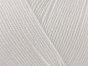 Patons 100% cotton 4 ply - white