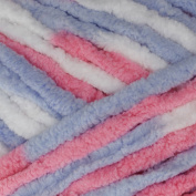 Bernat Baby Blanket Big Ball Yarn (04305) Pink/Blue