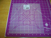 19cm Touching Hearts Quilting Stencil