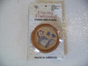 Country Traditional Cross Stitch Kit Rebecca/hearts #042143