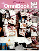 OmniBook For Bed and Bath - Cross Stitch Pattern