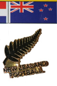 New Zealand FIFA World Cup Metal Lapel Pin Badge New